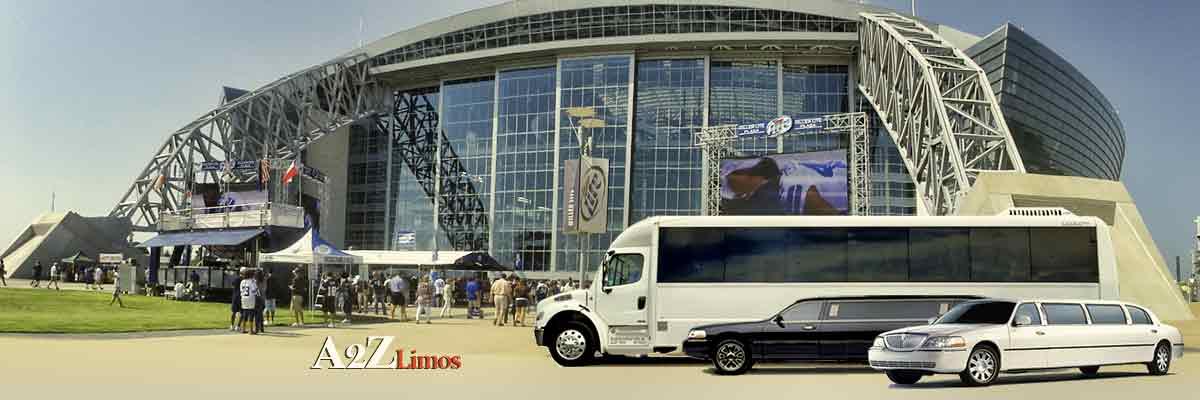 Dallas Cowboy Game Limousine