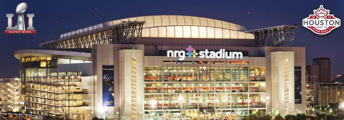 Super Bowl NRG Stadium 2017
